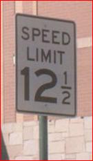 Speed Limit 12