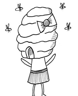 BeehiveGirl01